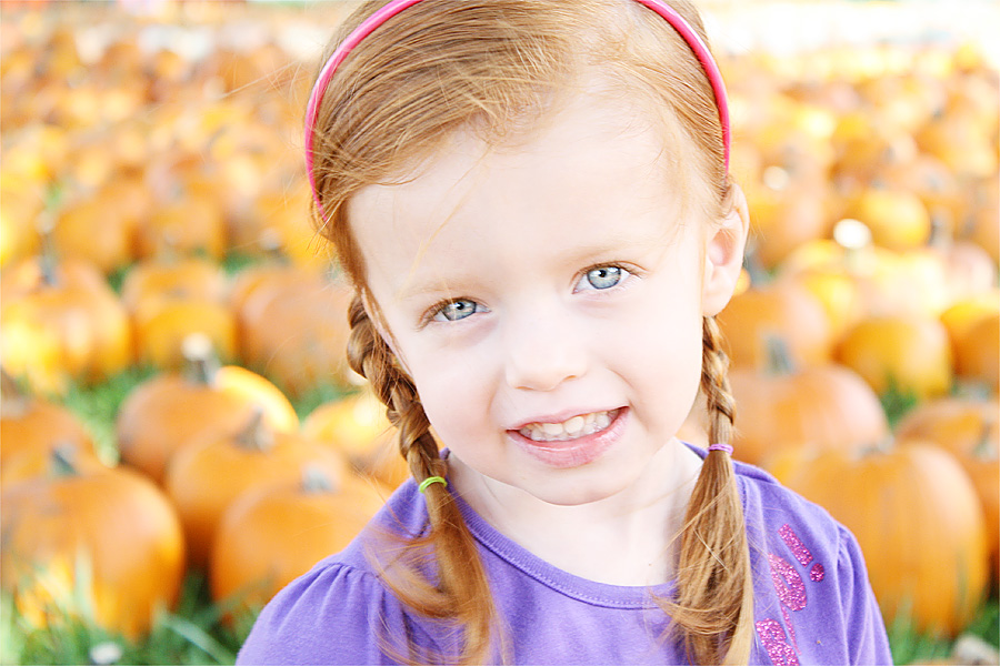 Audrey pumpkin patch 1